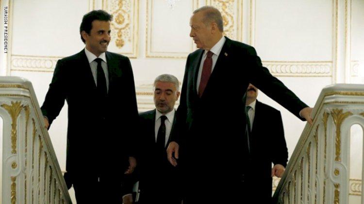 كواليس إرسال تميم طائرة تحمل أسلحة لإسطنبول لدعم أردوغان في ليبيا