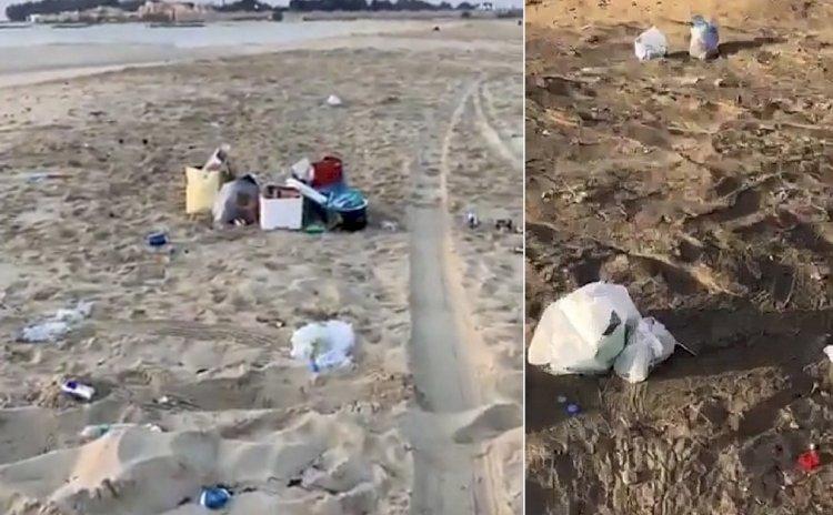 القمامة في شوارع وشواطئ الدوحة تهدد بموجة أكثر عنفًا لفيروس كورونا