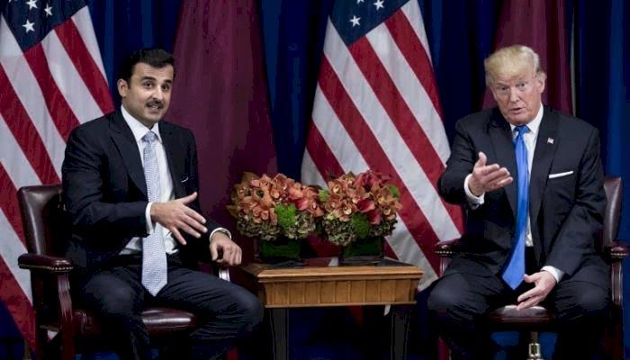 كاتب أميركي يكشف رشوة قطر السرية لترامب لتحسين صورتها