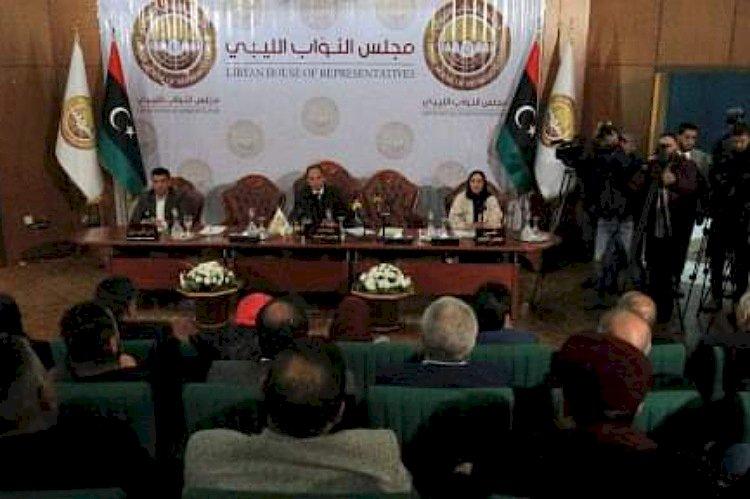 عراك صاخب بالبرلمان.. نواب ينتفضون ضد انتهاك وفد تركي  لسيادة ليبيا