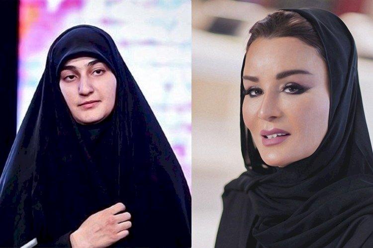 بحضور زوجة أمير قطر السابق  … كواليس زفاف نجلة قاسم سليماني في الدوحة