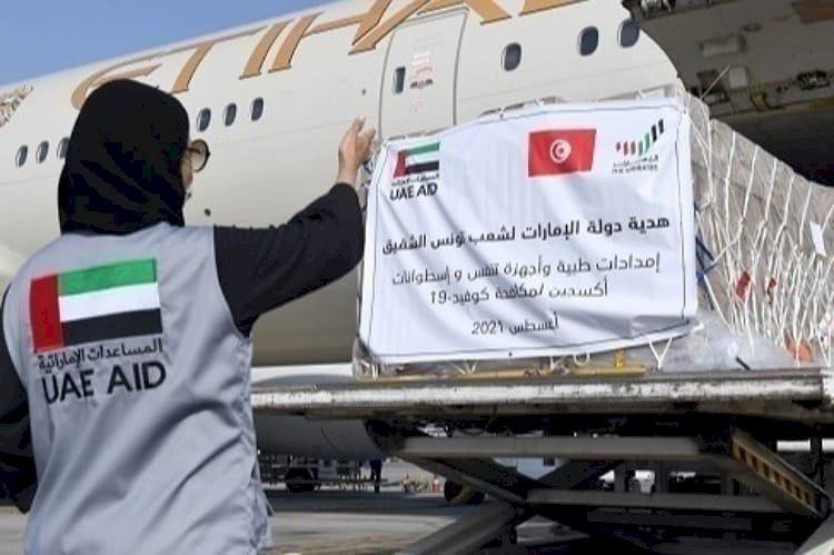 ترسيخًا للتضامن الإنساني.. الإمارات تضمد جراح تونس بمساعدات لمواجهة