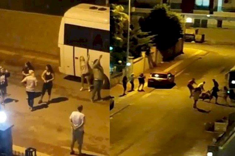 تصوير الكاميرات يفضح اعتداء قيادات العدالة والتنمية على مواطن تركي